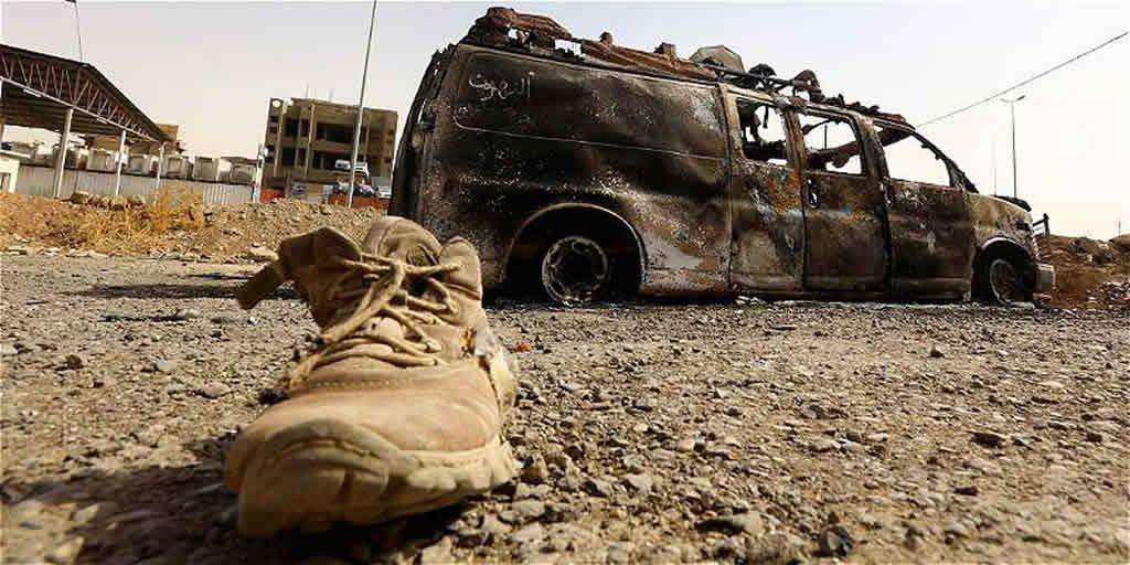 Al menos 75 muertos en un atentado del Estado Islámico al sur de Bagdad