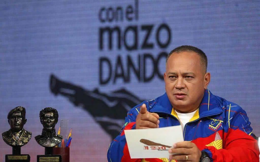 """Diosdado Cabello: """"No va a haber elecciones generales en Venezuela"""""""