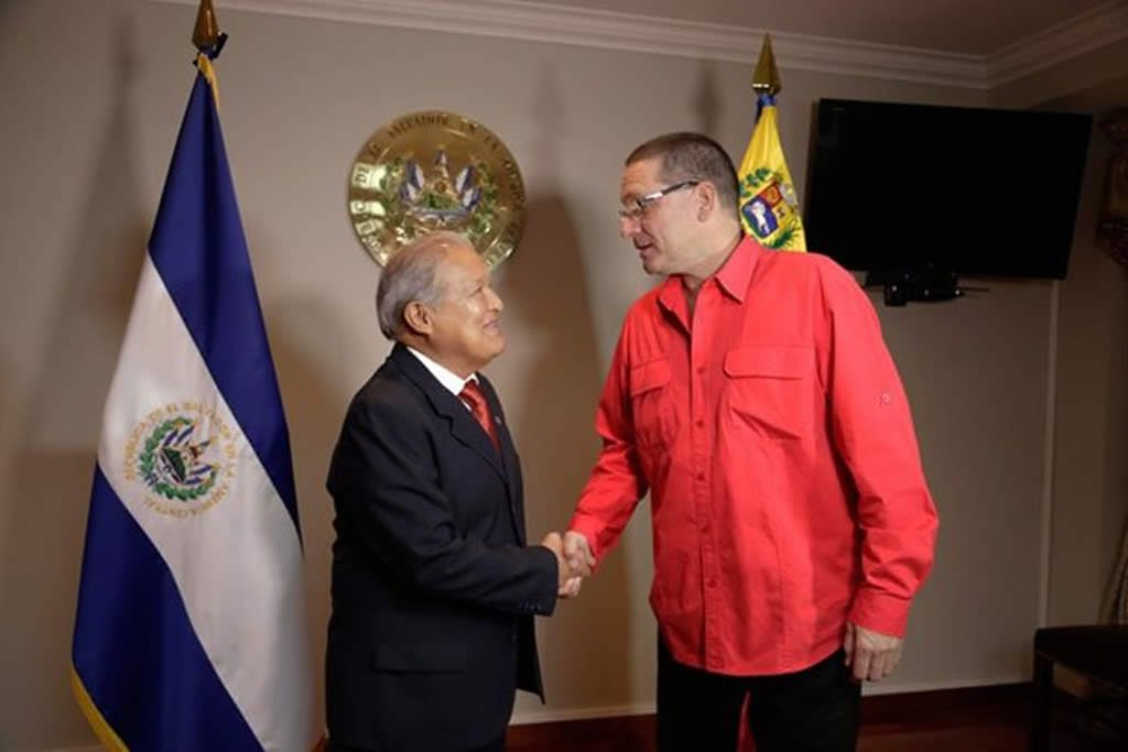 El Salvador y Venezuela acuerdan reforzar relaciones económicas y comerciales