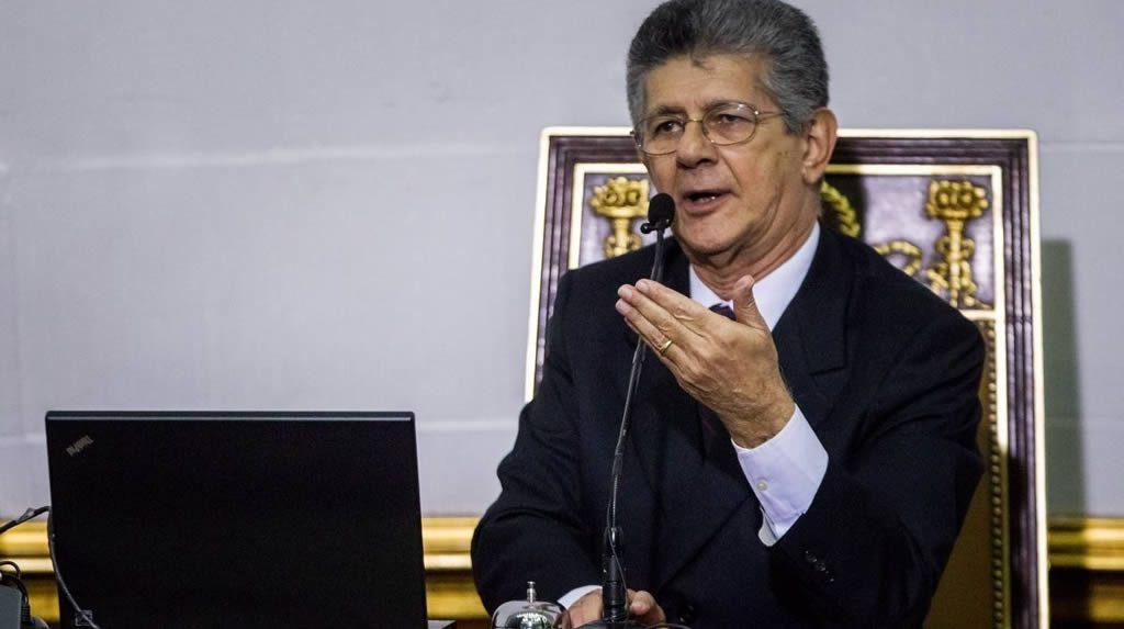 Ramos Allup afirma que desacatará sentencias del TSJ