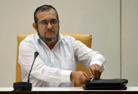 FARC pide conformar un Gobierno de transición que garantice el proceso de paz