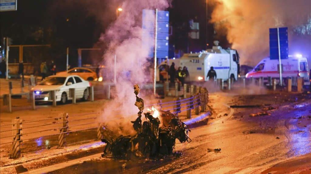 Un atentado suicida deja al menos 15 muertos y decenas de heridos en Estambul