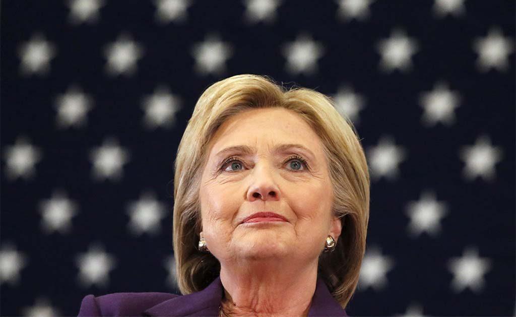Frase de Clinton al perder comicios, mensaje político más retuiteado de 2016