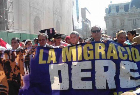 Marchan en Chile a favor de los derechos de los inmigrantes
