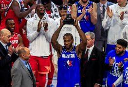 Leonard gana el primer Premio MVP y se lo dedica a Kobe Bryant