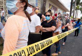 Florida llega a 123 muertos y 15.698 contagiados