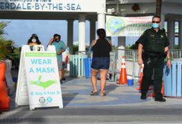 Florida alcanza el medio millón de casos de COVID-19