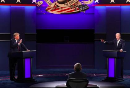 Organizadores apagarán micrófonos de Trump y Biden durante partes del debate