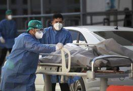 México reporta 8.074 nuevos contagios y 544 decesos por covid-19